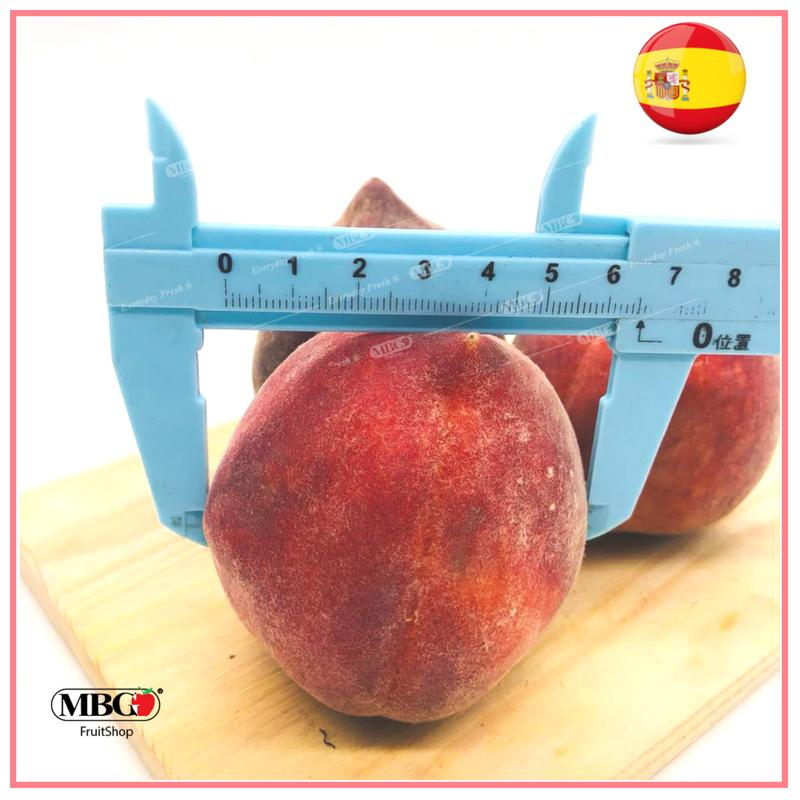 Spain Peach (3pcs/Pack)-Common Fruits-MBG Fruit Shop