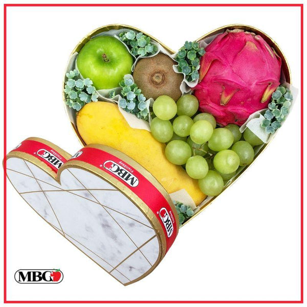 Sweetheart Series 3 (5 types of fruits)-Fruit Gift-MBG Fruit Shop