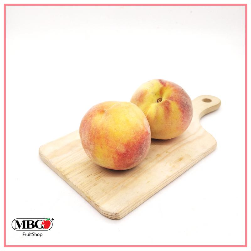 Turkey Melisa Yellow Peach (L)(2pcs/Pack)-Common Fruits-MBG Fruit Shop