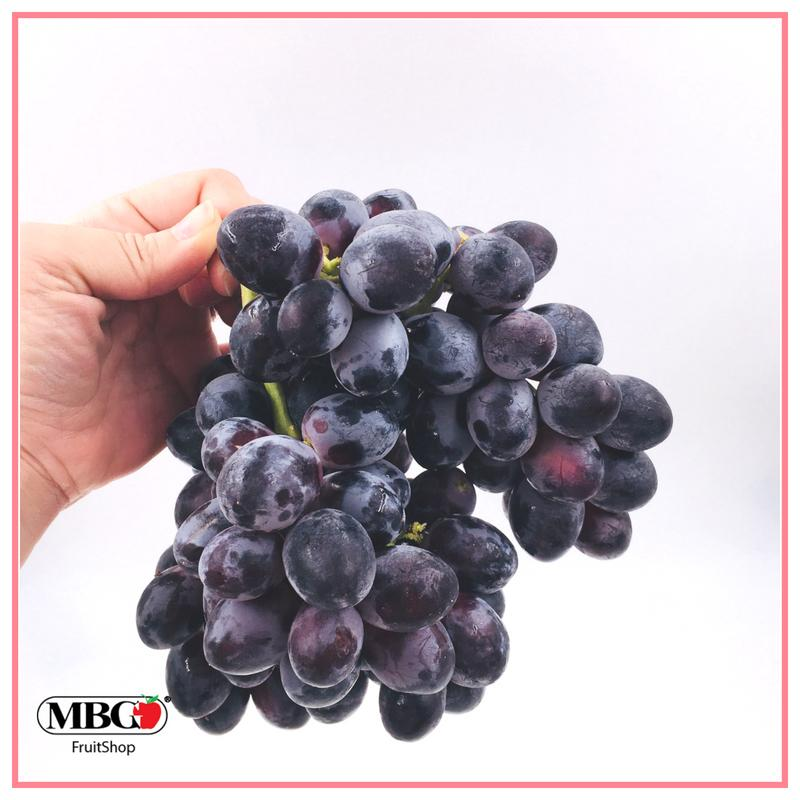 USA Black Grapes Summer Royal (1KG/Pack)-Seasonal Fruits-MBG Fruit Shop