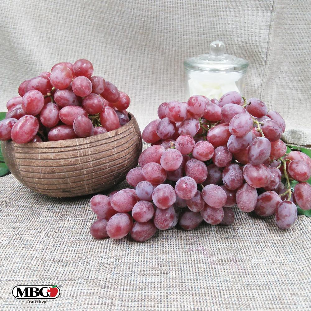 USA Monarchy Vintage Red Grape [800g/Pack]-Grapes-MBG Fruit Shop