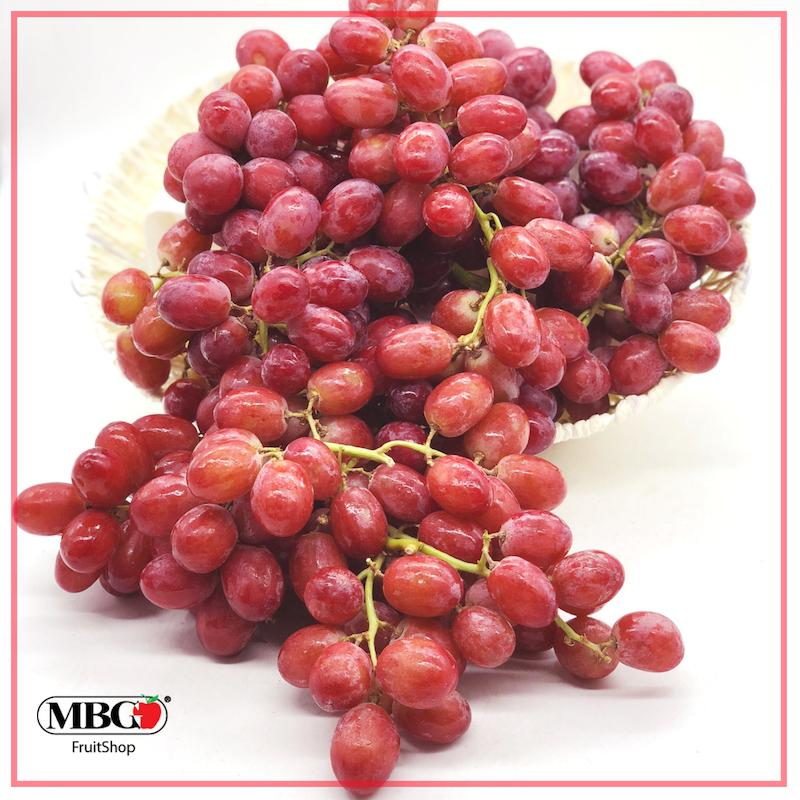 USA Sweet Scarlet Red Grapes (800g/Pack)-Grapes-MBG Fruit Shop
