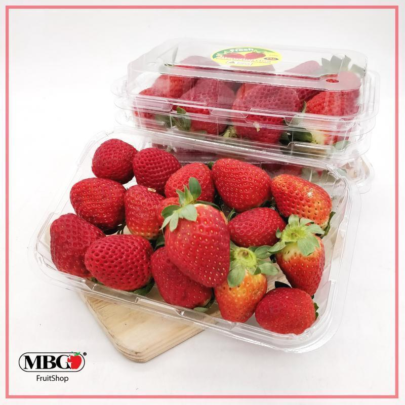 Zimbabwe Strawberry (250g/Pack)-Berries-MBG Fruit Shop