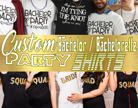 Custom Bachelor Bachelorette Party Basic Package