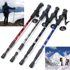 Aluminum Alloy Telescoping Hiking Stick-Ridge Line Survival Gear