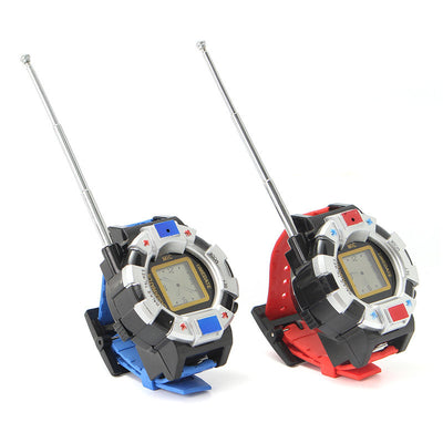 2PCS Children Wrist Watch 100M Radio Walkie Talkie Toys Kids Camouflage-Ridge Line Survival Gear