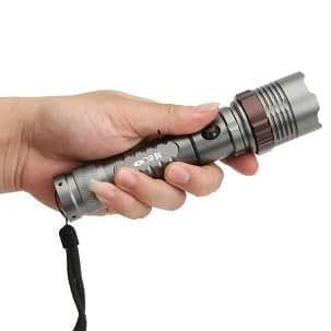 Meco XM-L T6 2000lm Zoomable LED Flashlight-Ridge Line Survival Gear