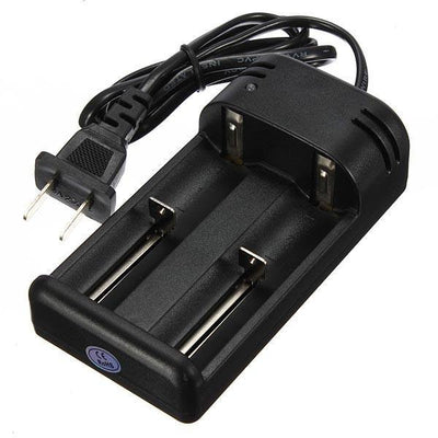 26650 18650 14500 Smart Double Battery Charger +Plug Adapter-Ridge Line Survival Gear