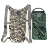 Survival Hiking Climbing 3L Hydration System Water Bag Pouch Bladder-Ridge Line Survival Gear