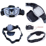 3 Mode 6 LED Bike HeadLamp HeadLight Torch Light Waterproof-Ridge Line Survival Gear