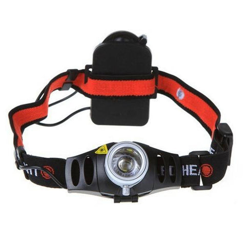 Bike Ultra Bright Q5 LED Zoomable Headlamp Headlight-Ridge Line Survival Gear