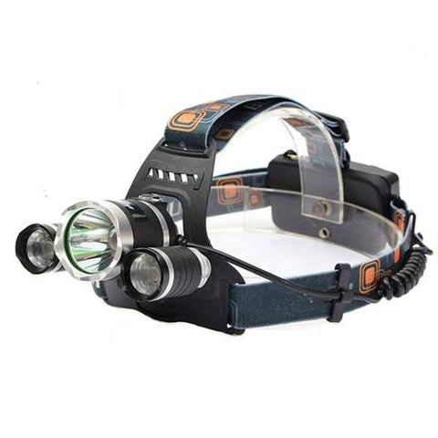 XM-L T6 LED Rechargeable Headlamp Headlight Torch-Ridge Line Survival Gear