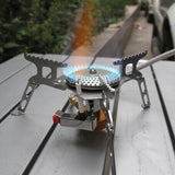 Windproof Portable Burner Furnace With Spark Rod-Ridge Line Survival Gear
