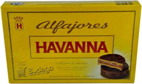 Alfajor Havanna Chocolate 306 g