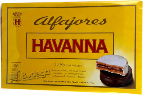 Alfajor Havanna Mixto 306 g