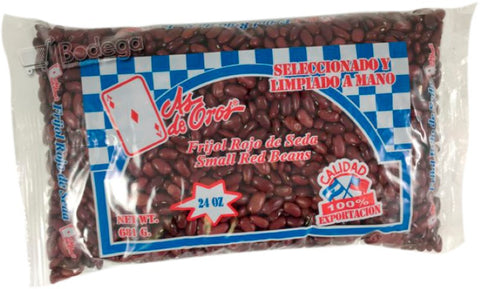 Frijol Rojo Seda As de Oros 24 oz (1.5 lb)