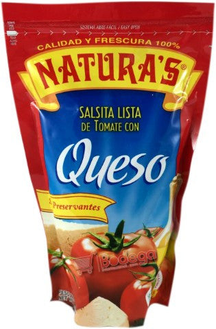 Salsa Naturas Queso 8 oz (227 g)