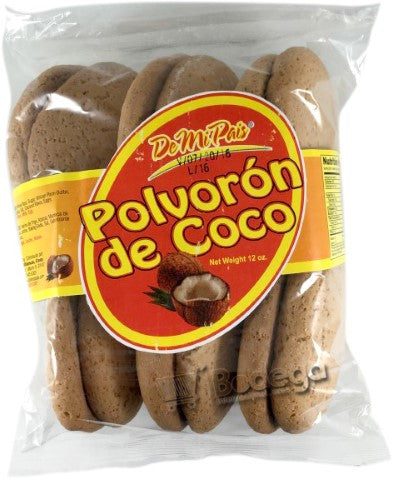 Galleta Polvoron de Coco 12 oz