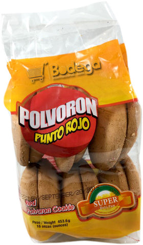 Galleta Polvoron Punto Rojo 16 oz