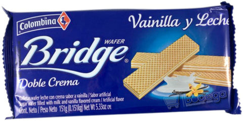 Galleta Bridge Vainilla 1 U