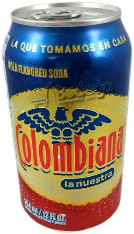 Soda Postobon Colombiana Lata 12 oz (1 Lata/Can)