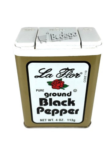 119. Black Pepper Ground La Flor 4 oz