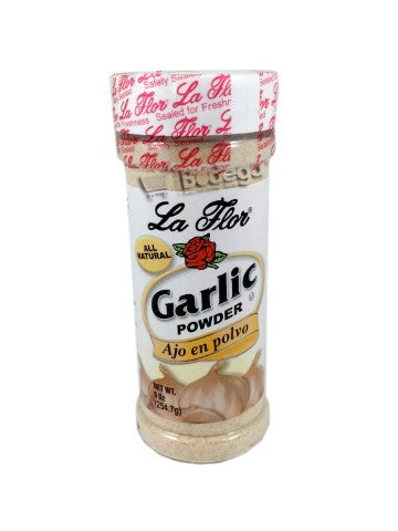 162. Garlic Powder Large La Flor 9 oz