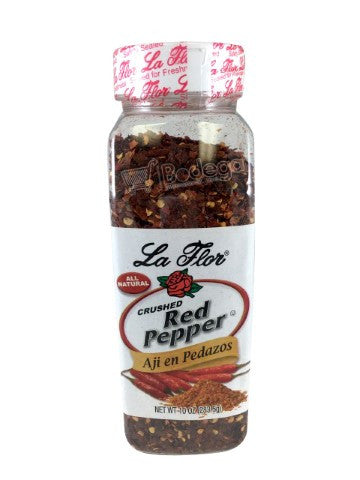 21510. Crushed Red Pepper La Flor 10 oz