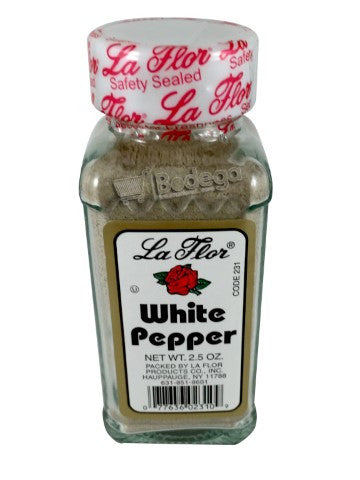 231. White Pepper Med La Flor 2.5 oz