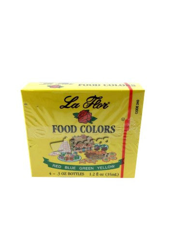240. Food Coloring La Flor 1.2 oz