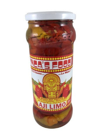 Aji Mixto Entero Vidrio IF 20 oz