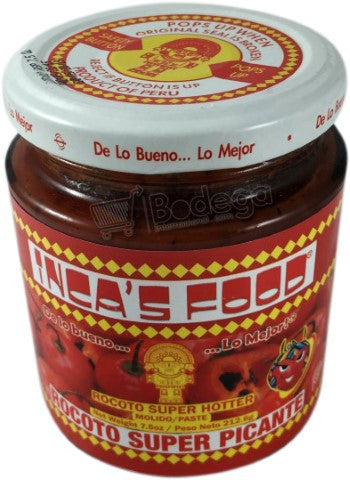 Pasta Aji Rocoto Super Picante IF 7.5 oz