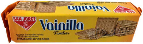 Galleta Vainilla Familiar San Jorge 120 g