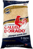 Arroz Gallo Dorado 5 lbs