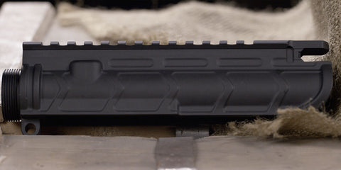 Bootleg AR-15 Stripped Upper Receiver Forged Aluminum Black Left