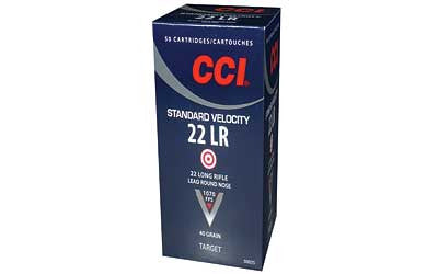 CCI .22 LR Ammunition 50 Rounds LRN 40 Grain 1070 FPS