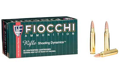 FIOCCHI .223 Remington 62 Grain FMJBT
