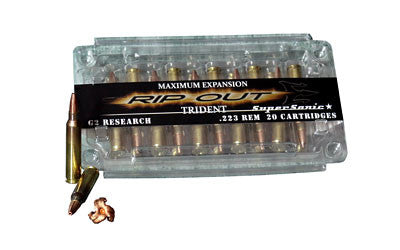 G2 Research .223 Remington TRIDENT RIP Out Lead Free