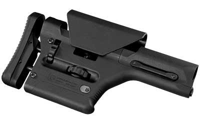 Magpul PRS Precision Rifle Sniper Adjustable Stock AR-15 Models With A1/A2 Receiver Extension Polymer Black MAG307-BLK