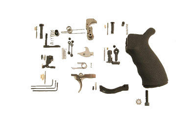 Spikes Tactical AR-15 Enhanced Lower Parts Kit, Complete, Semi-Auto Black