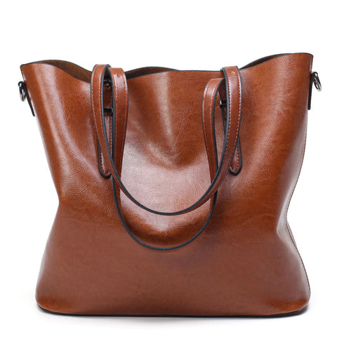 Oil Wax Leather Bag