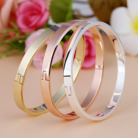 Stainless Steel Cuff Bangles