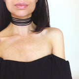 Multilayer Lace Choker Necklace