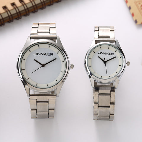 Lovers Steel Wristwatches