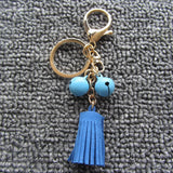 Tassel Keychain-Fashion Leather Design