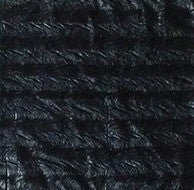 Black Distressed Leatheresque Pocket Square