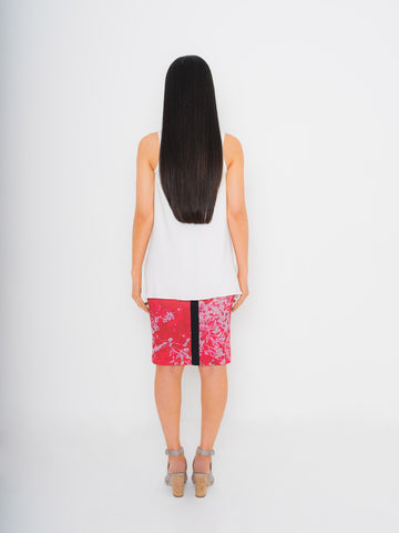 Namorita Print Neoprene Pencil Skirt
