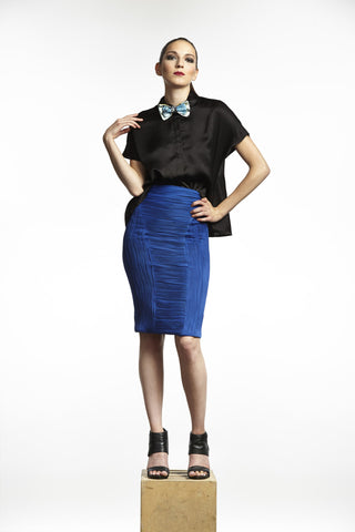 Mystique Conwave Knit Pencil Skirt