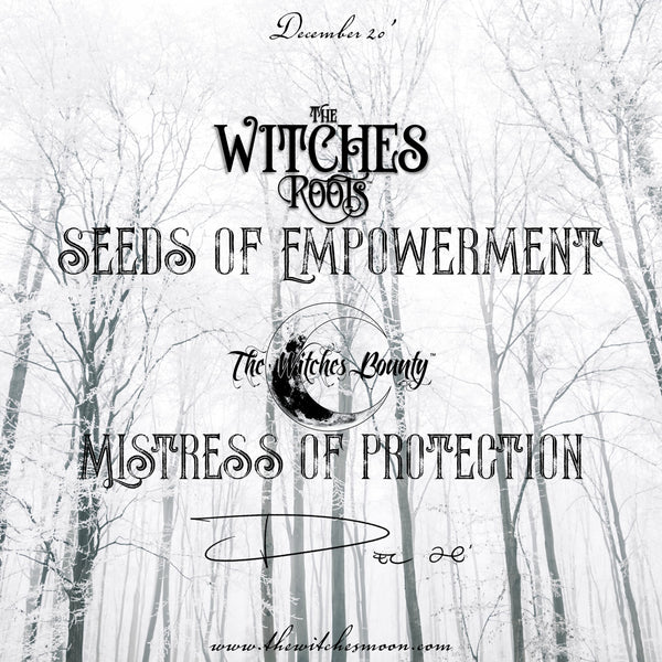 The Witches Roots™ & The Witches Bounty December 2020 Themes Revealed