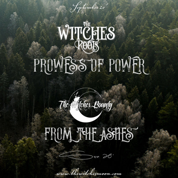 The Witches Roots™ & The Witches Bounty™ September 2020 Themes Revealed